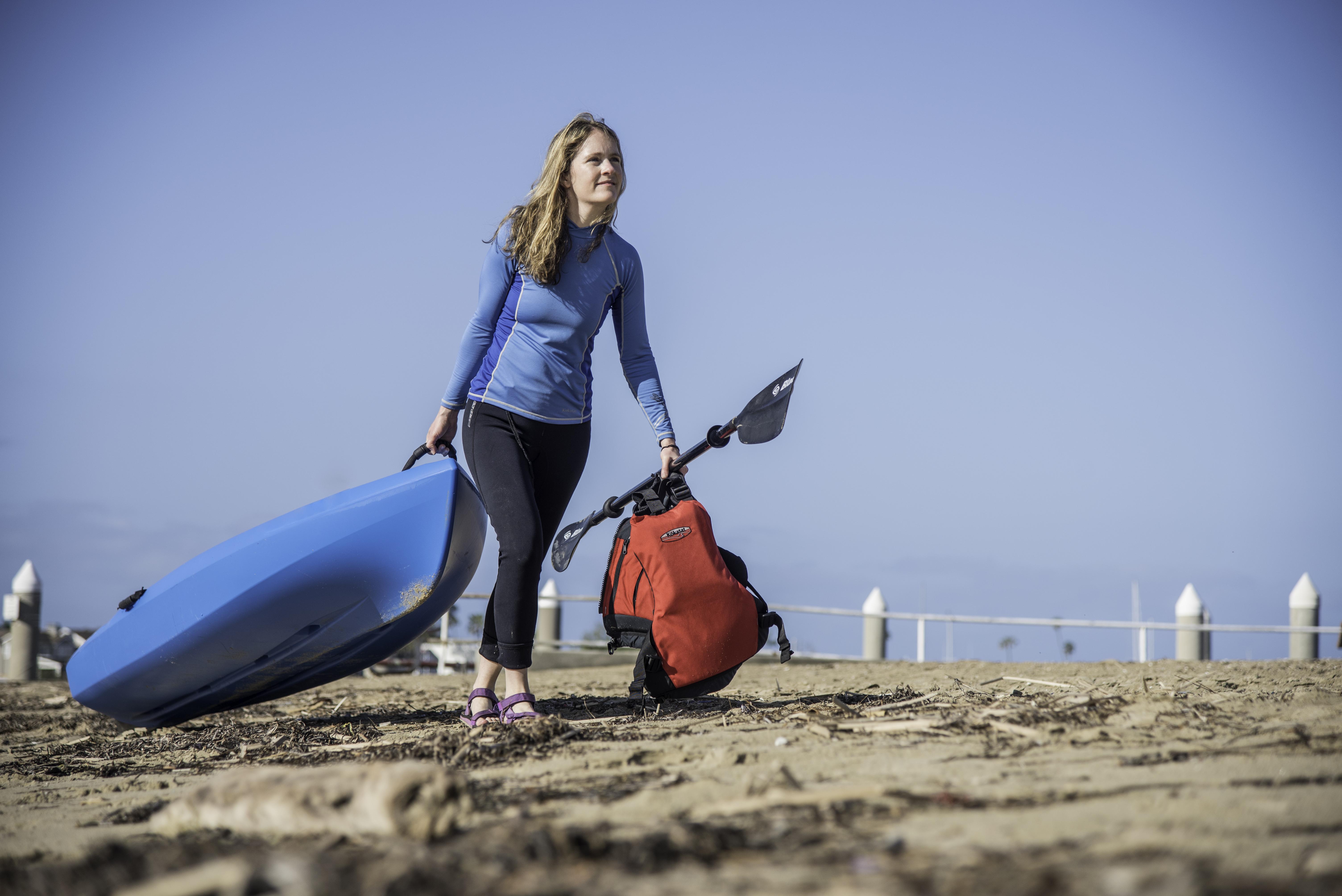dragging your kayak