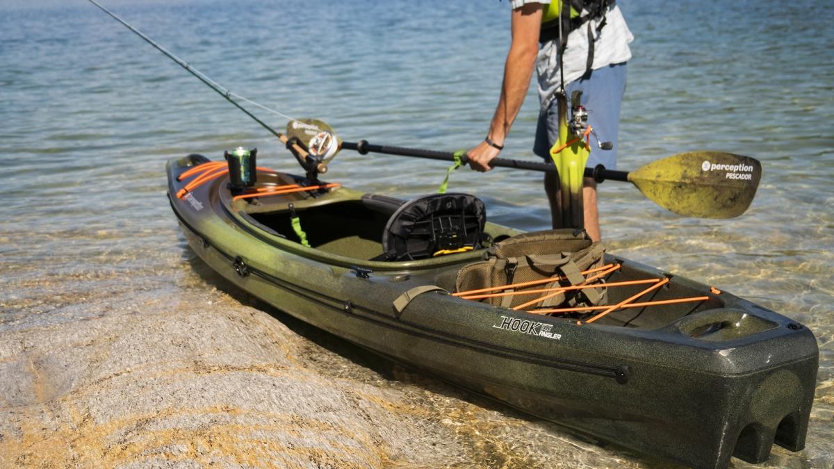 The Hook Fishing Kayak Perception Kayaks