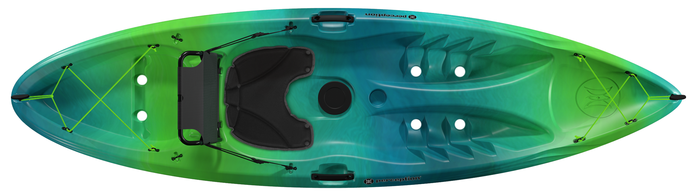 Top view of 2020 Tribe 9.5 Kayak