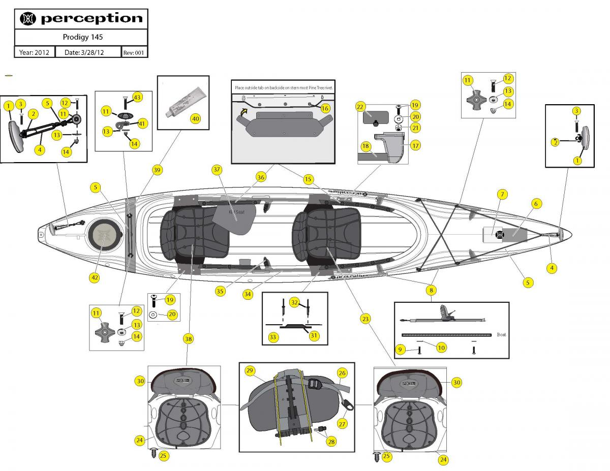 Prodigy 145 boat schematic