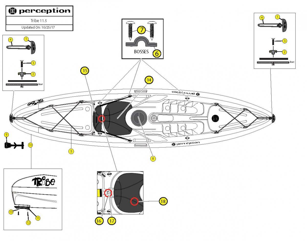 Tribe 11.5 boat schematic
