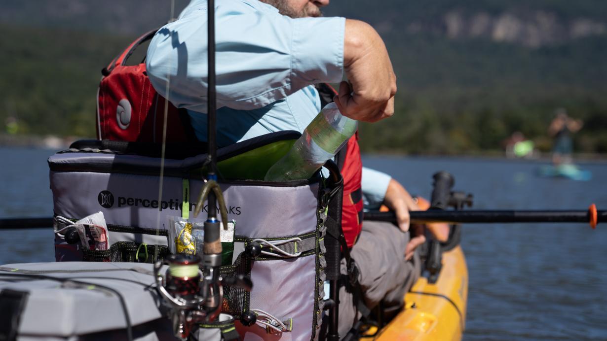 Splash Seat Back Kayak Cooler | Perception Kayaks | USA & Canada